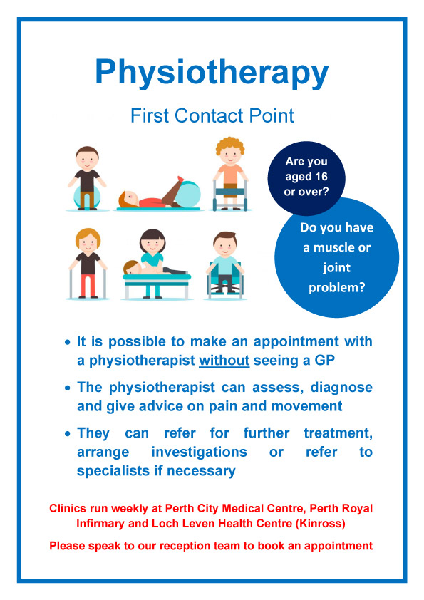 Physiotherapy at Taymount